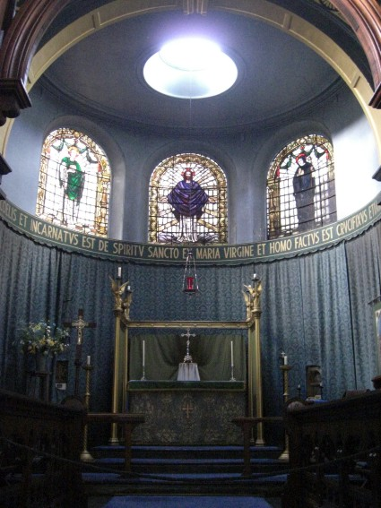 St Ninian, Whitby, apse